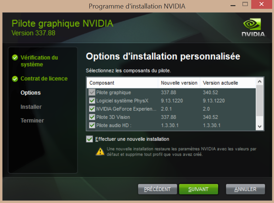 pilote nvidia geforce 840m
